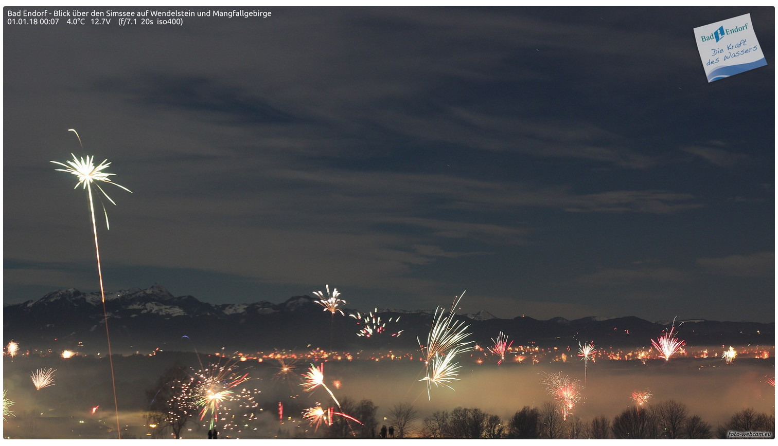 2017 Silvester am Simssee