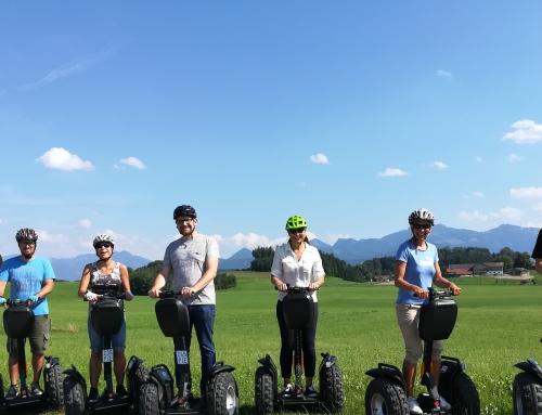 """Segway – """"Panoramatouren Camping Stein – Bad Endorf"""""""