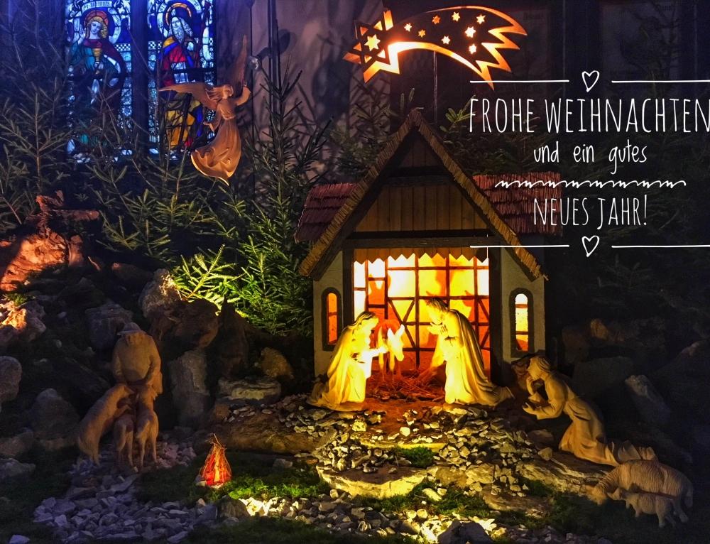 Frohe Weihnachten und ein gutes Neues Jahr!